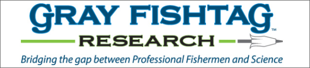 Gray FishTag Research Logo