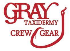 Gray Taxidermy CrewGear