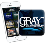 Gray Taxidermy App Badge