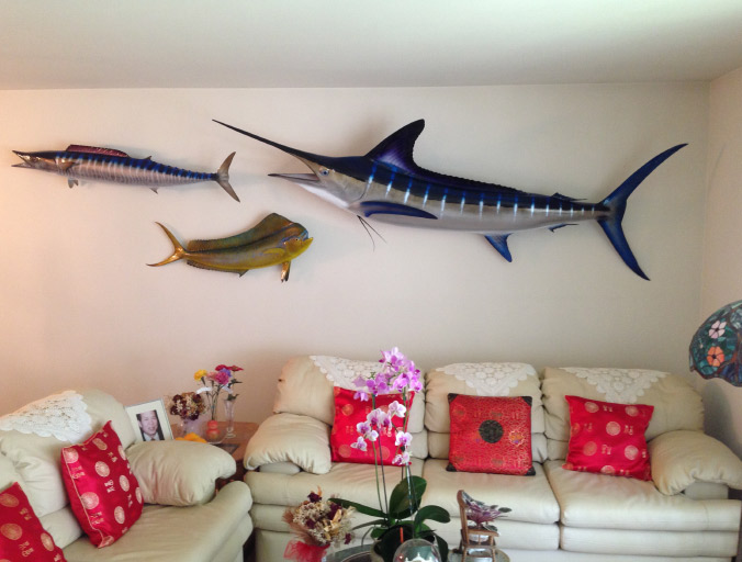 Fish Trophy Wall