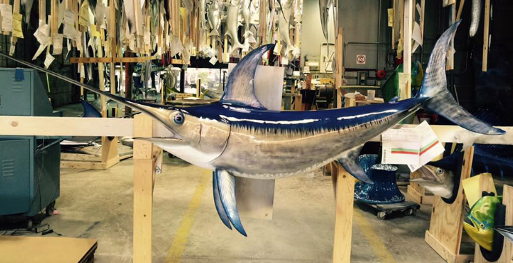 swordfish mount swordfish replica